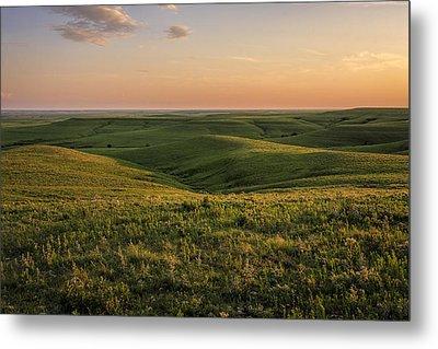 Spring Time On The Prairie Metal Print by Scott Bean