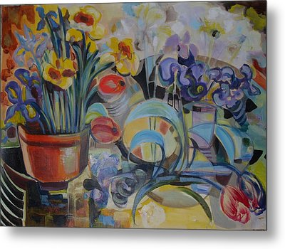 Spring Time Metal Print by Therese AbouNader