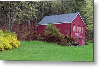 Metal Print featuring the photograph Spring Tobacco Barn by Bill Wakeley