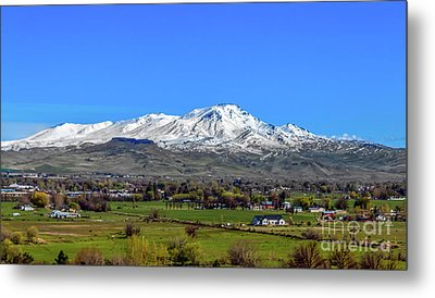 Metal Print featuring the photograph Spring View Of Squaw Butte by Robert Bales