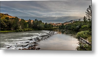 Spring View Of The Payette River Metal Print