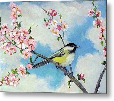 Spring's Promise Metal Print by Donna Tucker