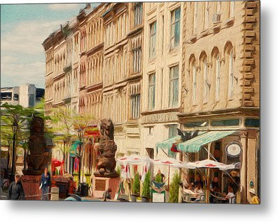 Springtime In Halifax Metal Print by Jeff Kolker