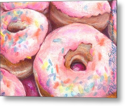 Sprinkles Metal Print by Melissa J Szymanski