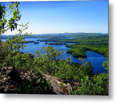 Squam Lake Metal Print
