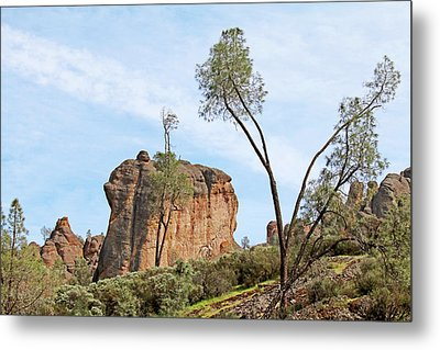 Metal Print featuring the photograph Square Rock Formation by Art Block Collections