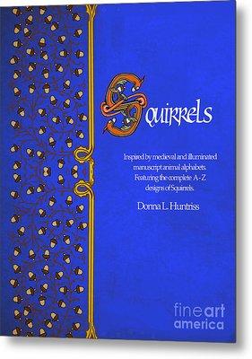Squirrels Book Cover Metal Print