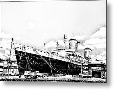 Ss United States Metal Print by Bill Cannon