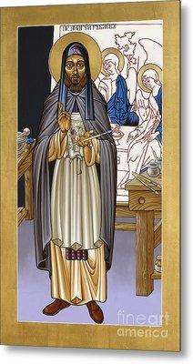 St. Andrei Rublev - Lwrub Metal Print by Lewis Williams OFS