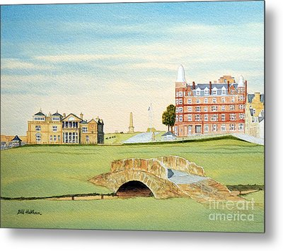 St Andrews Golf Course Scotland - Royal And Ancient Metal Print