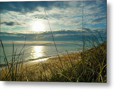 St Aug Sunrise Metal Print by Josy Cue