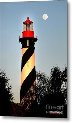 St. Augustine Lighthouse Metal Print by Addison Fitzgerald