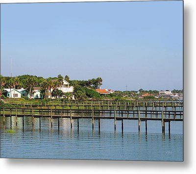 St. Augustine Morning Metal Print by Gordon Beck