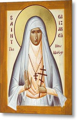 St Elizabeth The New Martyr Metal Print