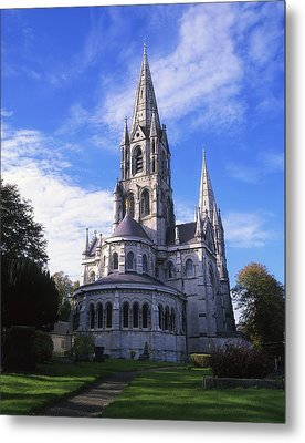 St Finbarrs Cathedral, Cork City, Co Metal Print by The Irish Image Collection