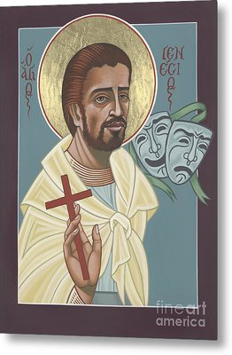 Metal Print featuring the painting St Genisius Patron Of Actors 279 by William Hart McNichols