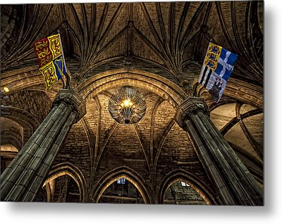 St. Giles Cathedral Metal Print by Jim Dohms