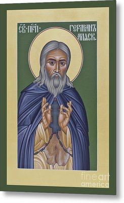 St. Herman Of Alaska  - Rlala Metal Print