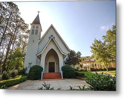 Metal Print featuring the photograph St. James V3 Fairhope Al by Michael Thomas