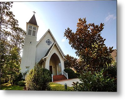 Metal Print featuring the photograph St. James V4 Fairhope Al by Michael Thomas
