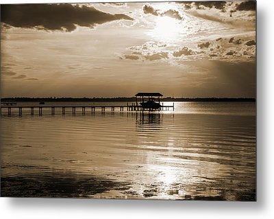 Metal Print featuring the photograph St. Johns River by Anthony Baatz