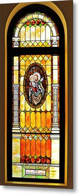 St Joseph Immaculate Conception San Diego Metal Print by Christine Till