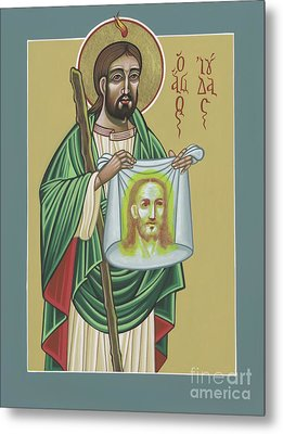 Metal Print featuring the painting St Jude Patron Of The Impossible 287 by William Hart McNichols