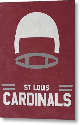 St Louis Cardinals Vintage Art Metal Print by Joe Hamilton