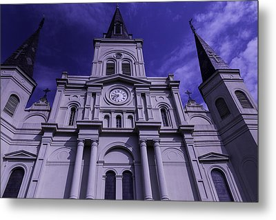 St. Louis Cathedral New Orleans Metal Print by Garry Gay