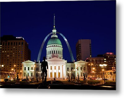 St. Louis Metal Print by Steve Stuller