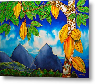 St. Lucia Cocoa Metal Print
