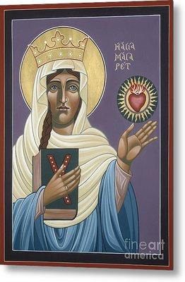 St Margaret Queen Of Scotland 158 Metal Print