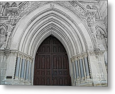St. Mary Cathedral- Austin Texas Metal Print by Luther Fine Art