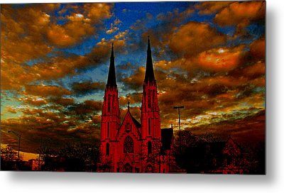 St. Mary Metal Print by Martin Morehead