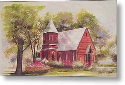 St. Mary's Chapel Metal Print by Charles Roy Smith