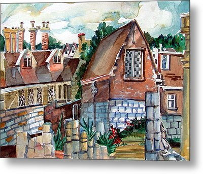 St Marys Of York England Metal Print by Mindy Newman