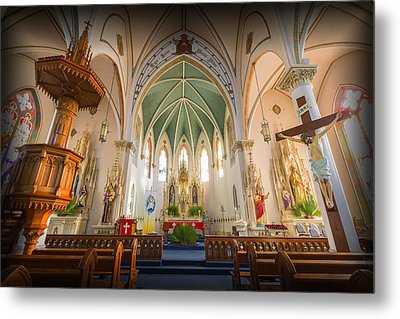 St Mary's Sanctuary Metal Print by Stephen Stookey