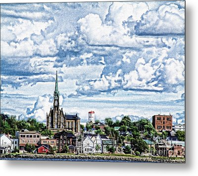 St Michaels Basilica Metal Print by KJMcGraw