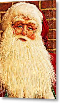 St. Nicholas Melting Canvas Photoart Metal Print