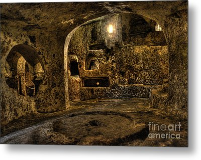 St. Paul's Catacombs In Malta Metal Print by Stephan Grixti