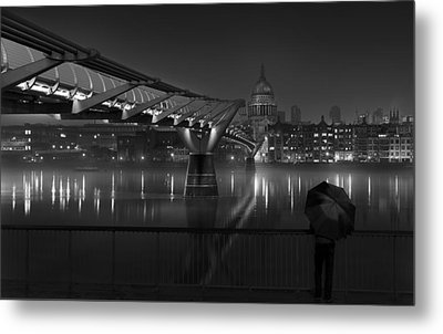 St Pauls Metal Print by Peter Davidson