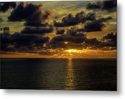 St. Pete Sunset Metal Print
