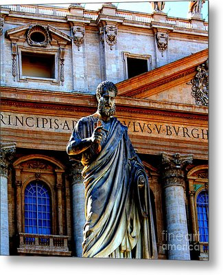 St Peter At The Vatican Metal Print
