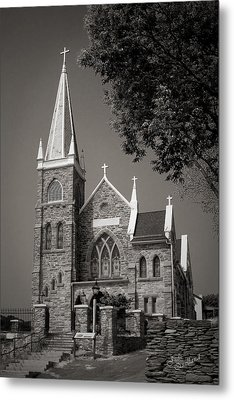 St. Peter's Catholic Chuch Metal Print by Judi Quelland