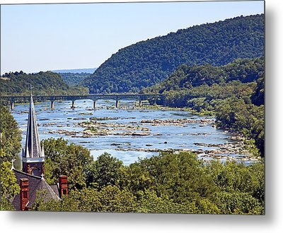 St. Peters Catholic Church In Harpers Ferry West Virginia Metal Print