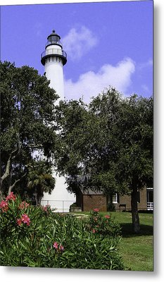St Simons Isle Lighthouse Metal Print