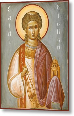 St Stephen II Metal Print by Julia Bridget Hayes