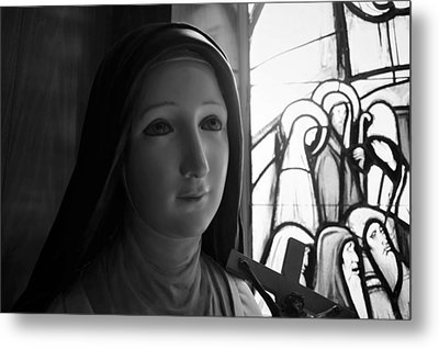 Metal Print featuring the photograph St. Therese Of Lisieux by Jeanette O'Toole