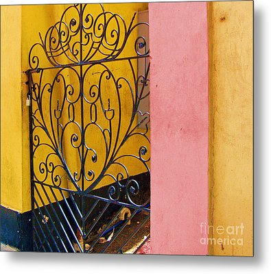 St. Thomas Gate Metal Print by Debbi Granruth