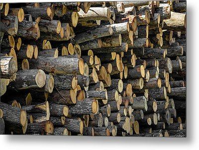 Stacked Metal Print by Brian Stevens